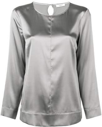 Peserico satin blouse