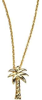Roberto Coin Women's Tiny Treasures 18K Yellow Gold Palm Tree Pendant Necklace