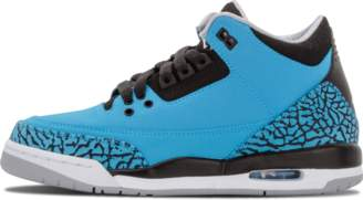 Jordan Air 3 Retro BG 'Powder Blue' - Dark Powder Blue/White