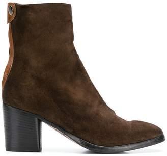 Alberto Fasciani block heel ankle boots