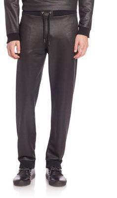 Versace Jeans Metallic Jogger Pants
