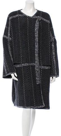 Chloé Chloé Pre-Fall 2016 Wool & Cashmere-Blend Coat w/ Tags