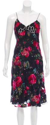 Ungaro Floral Silk Dress