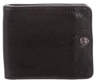Chrome Hearts Leather Bifold Wallet
