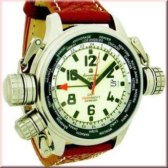 Aeromatic1912 Aeromatic Military GMT Worldtimer関数a1286