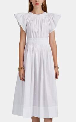 e1509597d604 Ulla Johnson Women s Lottie Embroidered Cotton Dress - White