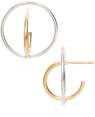 Women's Charlotte Chesnais 'Small Saturne' Earrings $450 thestylecure.com