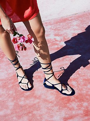 Aria Velvet Sandal by Jeffrey Campbell at Free People $65 thestylecure.com