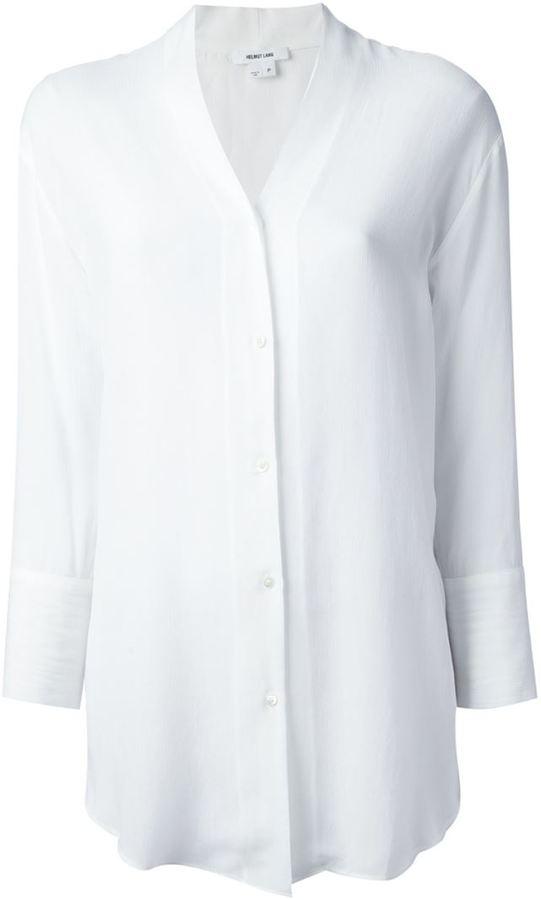 Helmut Lang oversize blouse