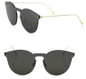 Illesteva Leonard II Mask 50MM Round Sunglasses
