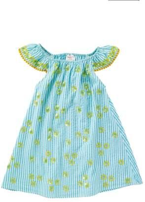 Masala Baby Daisy Flutter Sleeve Dress