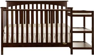 Dream On Me Chloe 5 in 1 Convertible Crib with Changer in