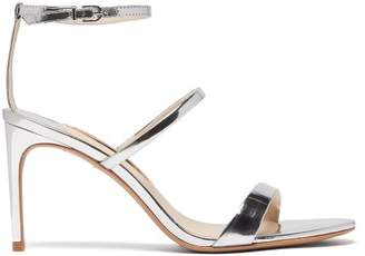 Sophia Webster Rosalind Leather Sandals - Womens - Silver