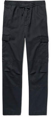 Tapered Lyocell Drawstring Cargo Trousers