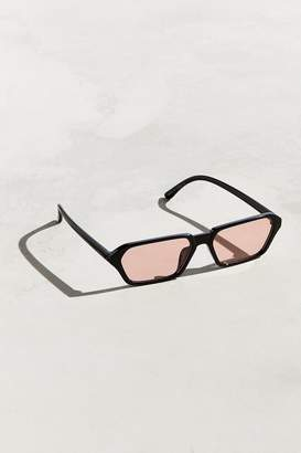 Urban Outfitters Combs Geo Rectangle Plastic Sunglasses
