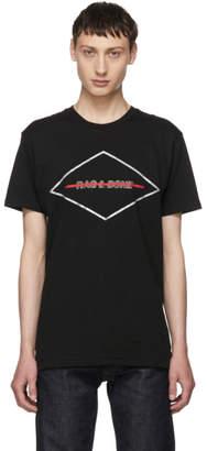 Rag & Bone Black Diamond Universal Logo T-Shirt