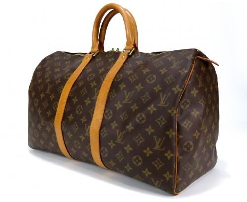 Louis Vuitton very good (VG Monogram Keepall 45 Duffle Bag
