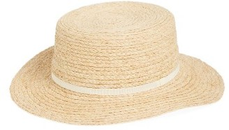 Women's Bp. Straw Boater Hat - Beige $22 thestylecure.com