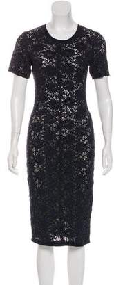 Raquel Allegra Lace Midi Dress