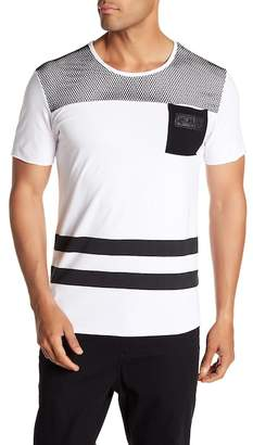Tailored Recreation Premium Stripe and Mesh T-Shirt