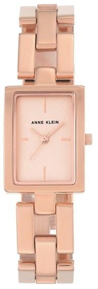 Anne KleinWomen's Anne Klein Rectangular Bracelet Watch, 21Mm