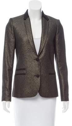 Zadig & Voltaire Metallic Structured Blazer
