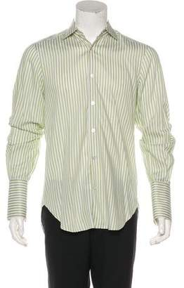 Kiton French Cuff Dress Shirt