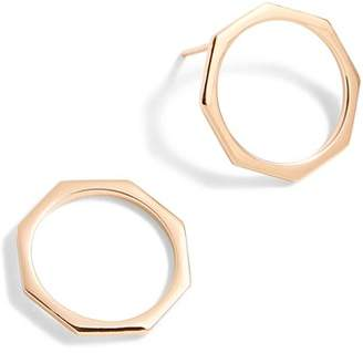 J.Crew J. CREW Delicate Hexagon Earrings
