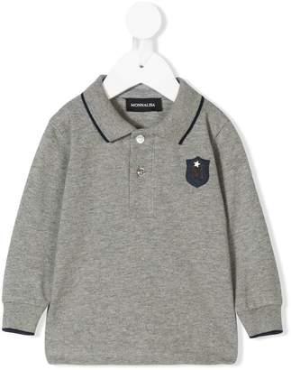MonnaLisa long sleeved polo shirt