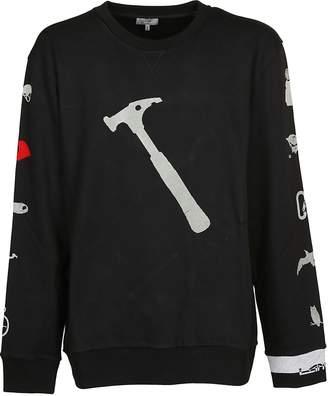 Lanvin Hammer Print Sweatshirt