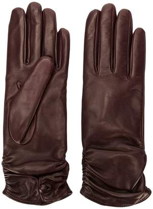 Gala Gloves ruched cuff gloves