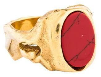 Valentino Stone Signet Ring