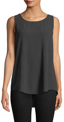 Eileen Fisher Silk Ballet Neck Tank Top