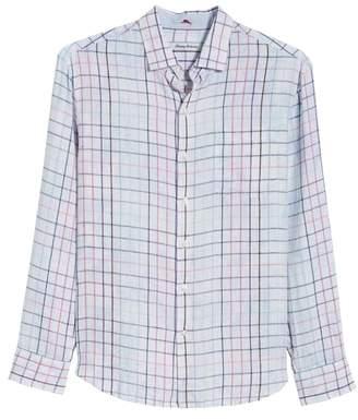 Tommy Bahama Tulum Terrace Check Linen Sport Shirt