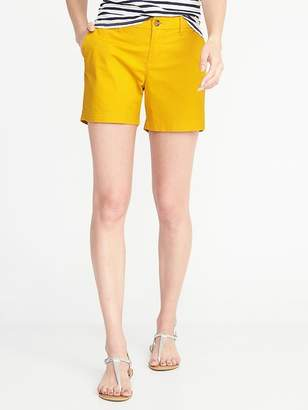 """Old Navy Mid-Rise Everyday Twill Shorts for Women (5"""")"""