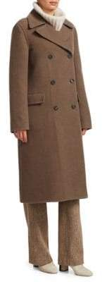 Loro Piana Raymun Pile Cashmere Double-Breasted Jacket