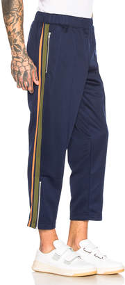 Comme des Garcons Mesh Pants in Navy | FWRD