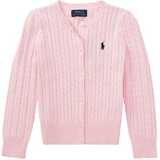 Polo Ralph Lauren Cable Knit Cotton Cardigan (Toddler)