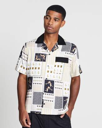 Saturdays NYC Xavier Nautics Short Sleeve Shirt