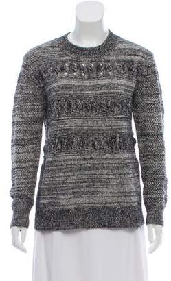 Thakoon Cable Knit Wool-Blend Sweater