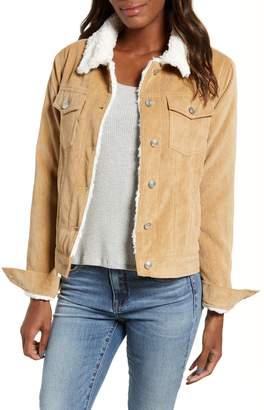 Thread & Supply Paddington Fleece Lined Corduroy Jacket