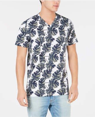 American Rag Men Watercolor Palm T-Shirt
