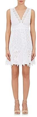 Temptation Positano Women's Tulipano Cotton Eyelet & Crochet Dress