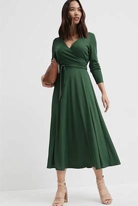 Witchery Rib Wrap Dress