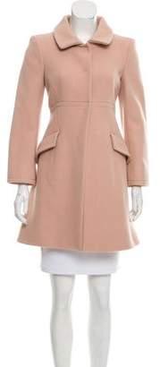 Philosophy di Alberta Ferretti Wool-Cashmere Blend Coat