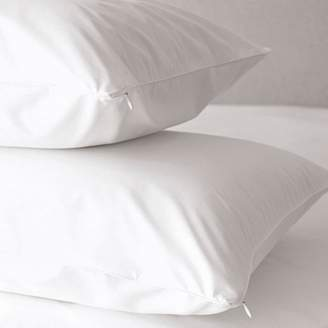 The White Company Zip Closure Pillow Protectors - Set of 2