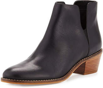 Cole Haan Abbot Grand.OS Leather Cutout Bootie, Black