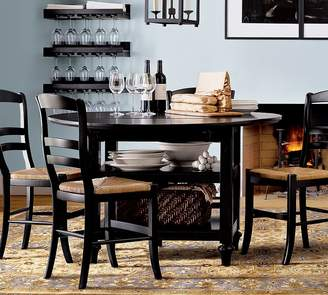 Pottery Barn Shayne Table & Isabella Chair 5-Piece Dining Set