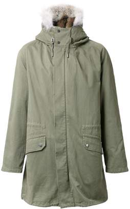 Yves Salomon lined parka