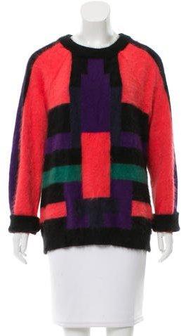 BalmainBalmain Scoop Neck Wool Sweater